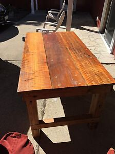 Rustic custom built barn board table Sarnia Sarnia Area image 2