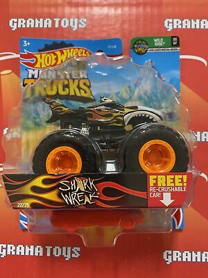 Shark Wreak 22/75 Wild ride 3/7 2021 Hot Wheels Monster Trucks Case C