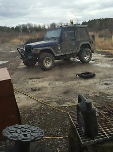 Parting out 98 tj 2.5l 5 speed