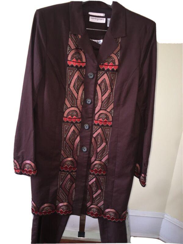 Bloomingdales Pant Suit Size 14