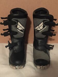 Fly Racing motor cross boots  Cambridge Kitchener Area image 1