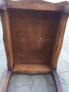 Decorative all wood side or end table Kitchener / Waterloo Kitchener Area image 6
