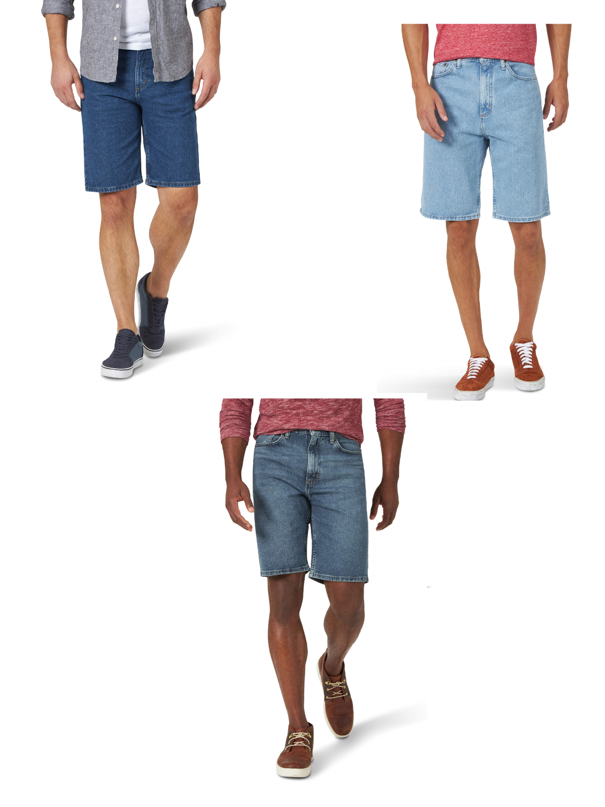 NEW MENS WRANGLER 5 POCKET DENIM JEAN SHORTS BUY MORE SAVE MORE$$ Clothing, Shoes & Accessories