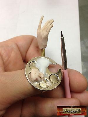 M00489 MOREZMORE Finger Ring Paint Palette for Nail Art of Mini Detail Work T20