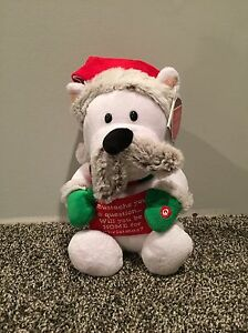 Polar Bear Singing Animated Toy