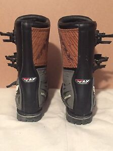 Fly Racing motor cross boots  Cambridge Kitchener Area image 2