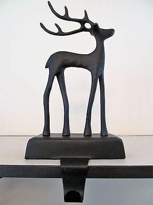Pottery Barn Reindeer ~Christmas~ Stocking Holder, New