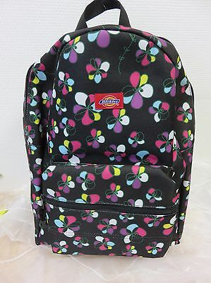 Dickies-rucksack Schwarz (Dickies * Rucksack - Schwarz - Muster  )