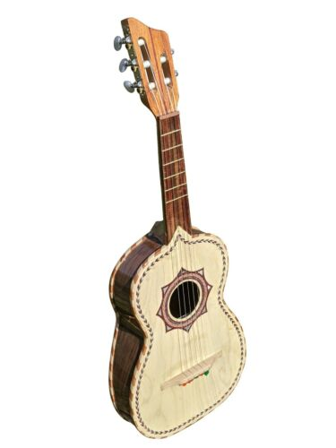 Vihuela de Palo Escrito, Hand Made in Mexico, W/ Gig Bag, Fast Free Shipping!