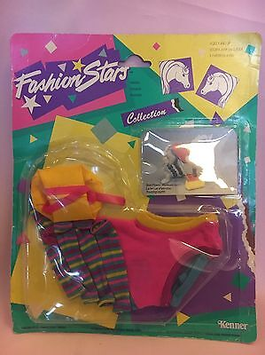 Kenner Fashion Stars Filies Star Power Workout outfit MOC carded Tonka 80's (80s Workout Outfit)