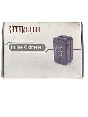 Santa Medical Dual Color Oled Pulse Oximeter Fingertip Blood Oxygen Saturation