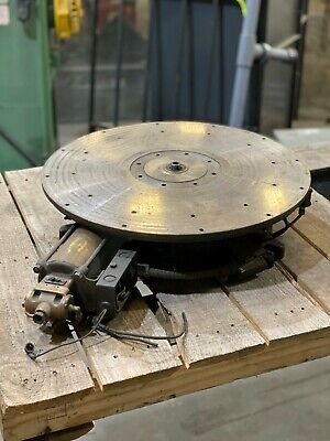 22 Schrader Bellows Rotary Indexer 12 Station Indexing Table Brett22