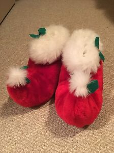 Cute Christmas Slippers Edmonton Edmonton Area image 1