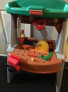 Fisher Price workbench/toolbench