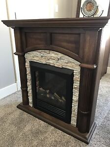 Stone Electric Fireplace For Sale