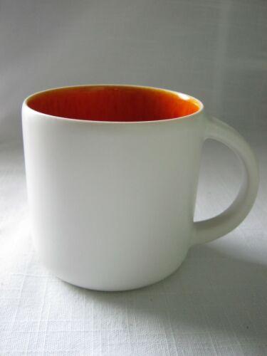 Jars France for Williams Sonoma CANTINE Mug Crackled Tangerine Orange