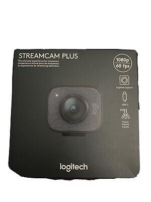 Logitech StreamCam Plus (Graphite) Full HD camera for live streaming 960-001280