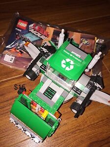 Lego movie garbage truck Windsor Region Ontario image 1