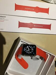 stainless steel 42mm apple watch 1st gen