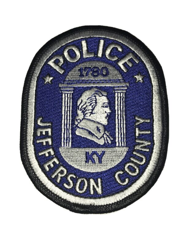 Jefferson County Kentucky Police Department RIGHT Facing Shoulder Patch