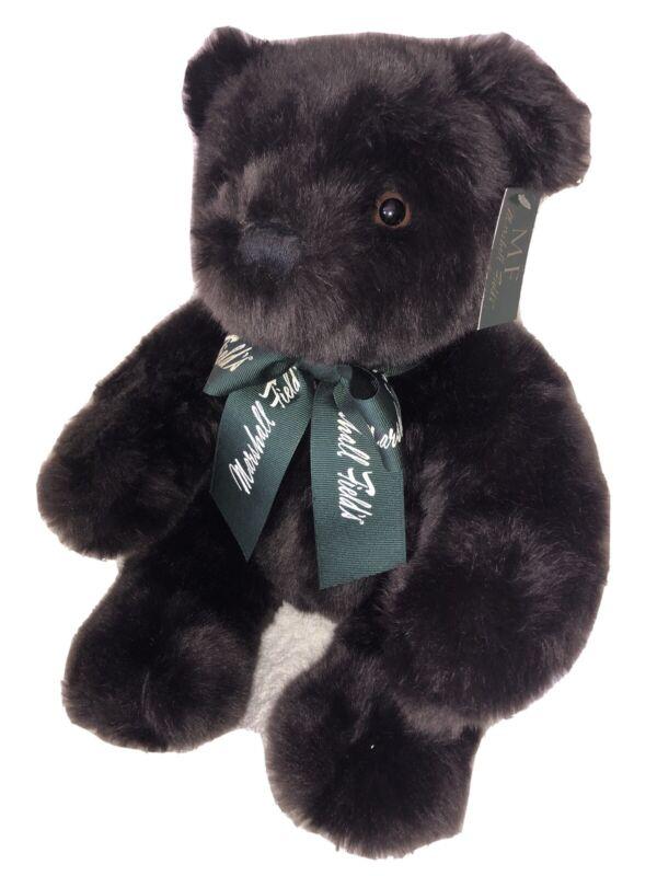 Marshall Fields Plush Bear 2003 Dark Brown 15 Inch