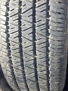 4 winter tires used only 1 season West Island Greater Montréal image 2