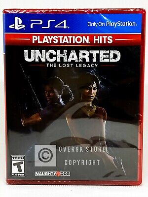 Uncharted: The Lost Legacy - PS4 - Brand New | Factory Sealed