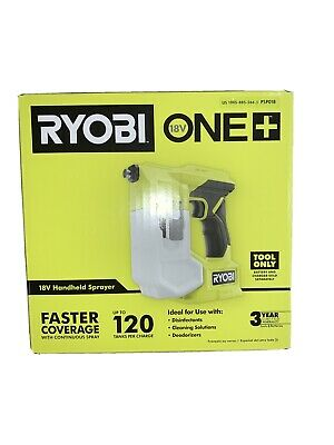Ryobi 18v One Cordless Handheld Sprayer Tool Only Disinfectant Deodorizer