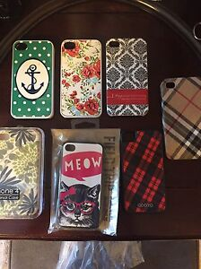 Iphone 4 Cases- 7 Cases for $15 - Stocking Stuffers!!