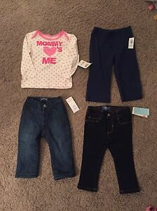 NEW With tags 12-18 months clothes