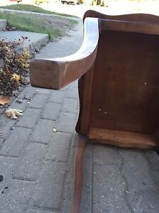 Decorative all wood side or end table Kitchener / Waterloo Kitchener Area image 5