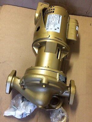 Boiler Pump Bell Gossett B605s Maintenance Free. Sph 115208230 Volt.