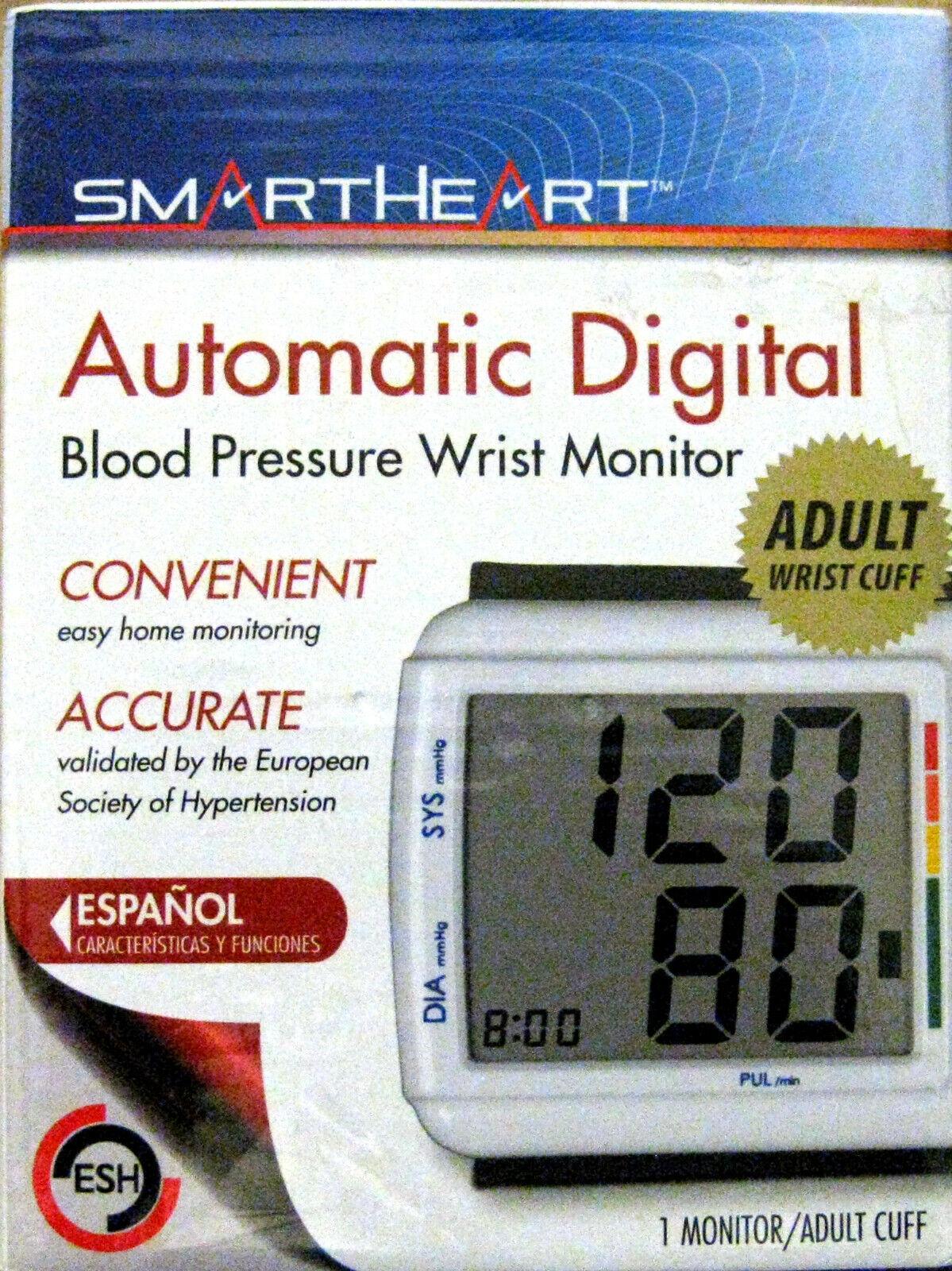 Veridian Healthcare 01-540 Smartheart Wrist Digital Blood Pr