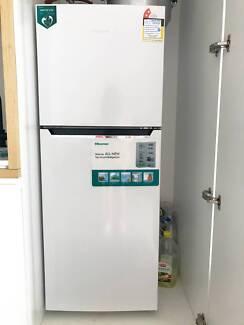 hisense 230l top mount frost free fridge