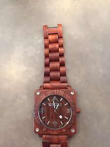 Wood watch for sale