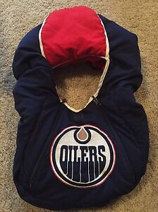 baby car seat cover (Oilers) for $10