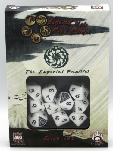 Q-Workshop SL5R02 The Imperial Families (Legend of the Five Rings Dice Set) L5R