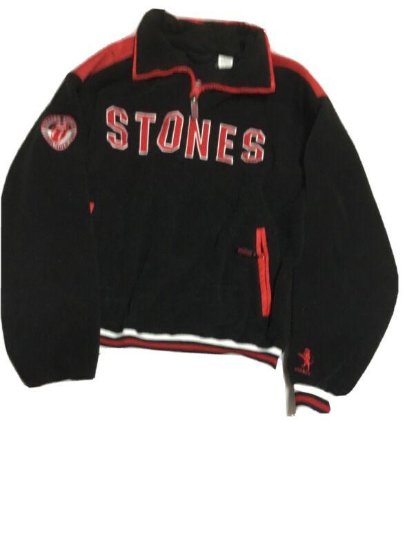 ROLLING STONES Vintage Fleece Pullover Jacket