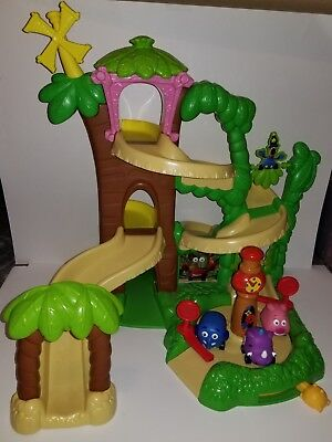 Disney World of Jungle Junction Roadway Track Playset Ellyvan Lance