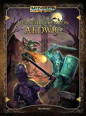 Midgard: Der Schrecken von Aldwic (44468), Abenteuerband, Rollenspiel, NEU