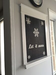 Built-in chalkboard installed in your home Oakville / Halton Region Toronto (GTA) image 2