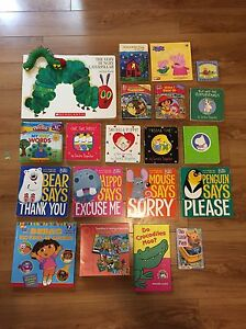 19 Children's board books and 3 puzzles for 2+ Oakville / Halton Region Toronto (GTA) image 1