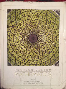 MRU Math 1200 (Calculus) textbook and solutions