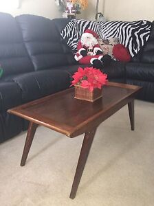 Amazing condition mid century solid wood coffee table