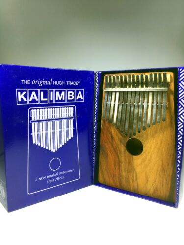 HUGH TRACEY ALTO CHROMATIC BOX KALIMBA (15+11-KEY)