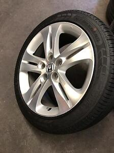 Honda Accord euro wheels 18 inch Rowville Knox Area Preview