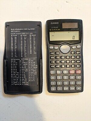 CASIO Scientific Calculator // fx-991MS S-V.P.A.M. // 2 Line // Tested! // Good!