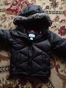 Columbia down filled winter jacket with matching 6y