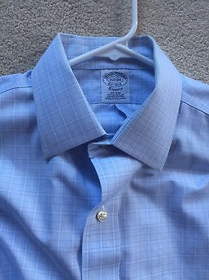 Men's Brooks Brothers Dress Shirt 15 1/2 -34