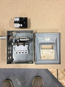 70 amp panel with breakers